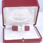 Cartier-Tank-Anglaise-18k-white-gold-diamond-red-crocodile-watch