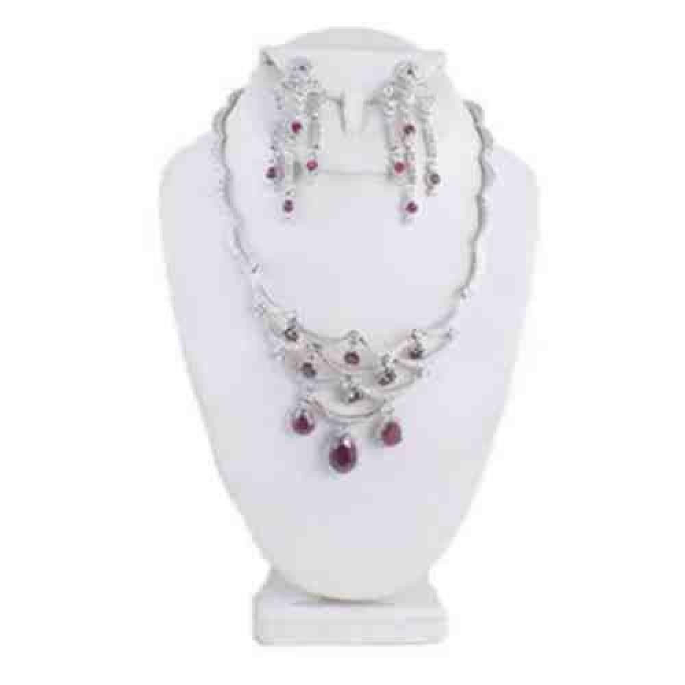 Custom_Ruby_Diamond_Necklace_Earrings_Set