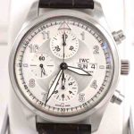 IWC-Fleiger_Chronograph_Silver-Face_Mens_Watch