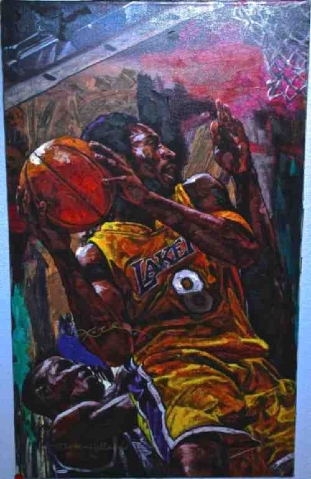 Signed_Kobe_Bryant_Canvas_Giclee_Deluse_Oil_Painting