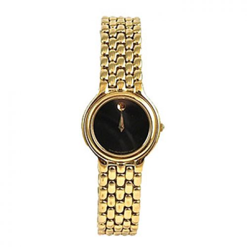 Movado Women's Classic Gold Plated Watch