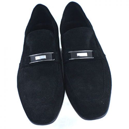 Carrucci Black Suede Shoe