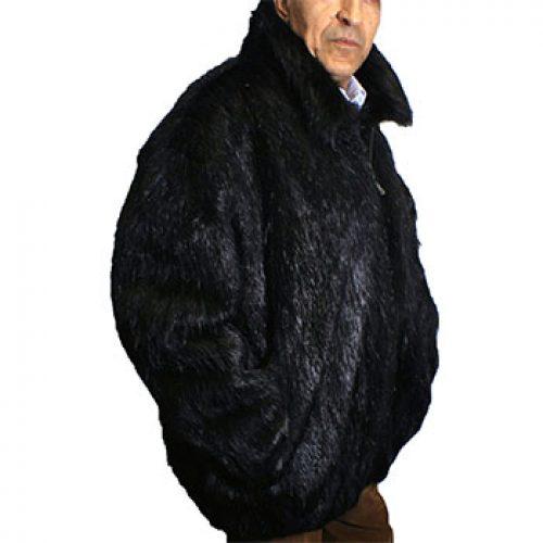 Knoles and Carter 100% Beaver Fur Jacket