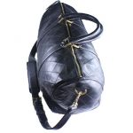 Vintage Chanel flat Quilted Speedy Duffle Bag