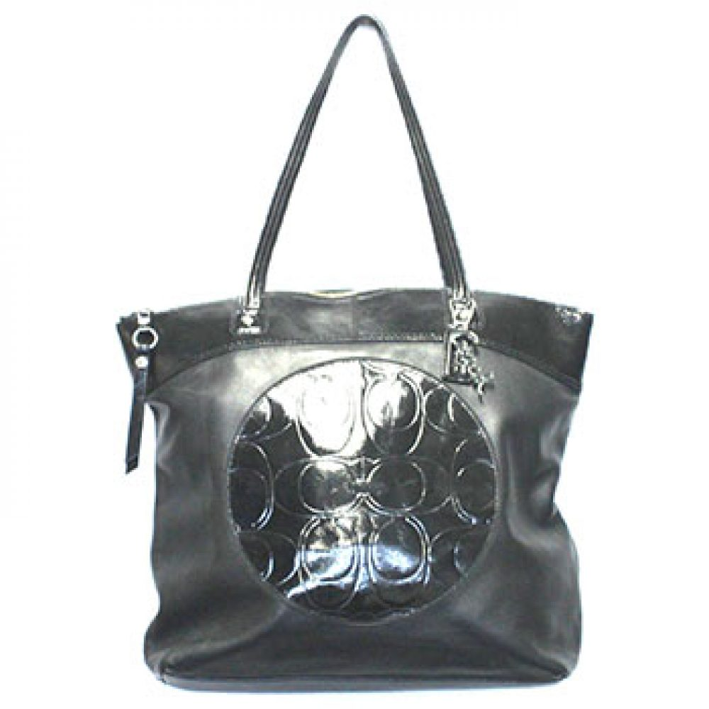 Coach Laura Leather Tote Bag
