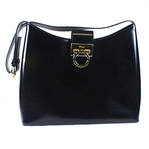 Salvatore Ferragamo Gancini Shoulder Bag 8662