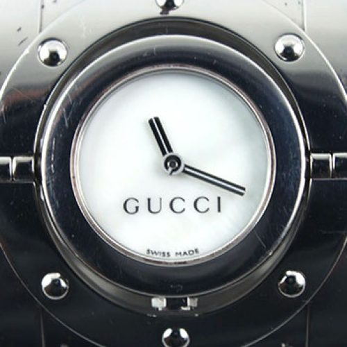Gucci 112 Twirl Ladies Watch