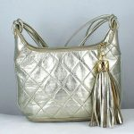 Vintage Chanel Metallic Quilted Shoulder Bag