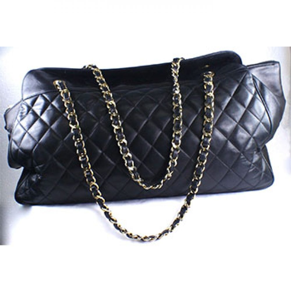 Vintage Chanel Quilted Shoulder Bag