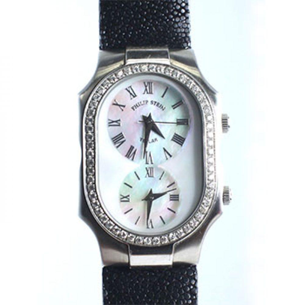Philip Stein Dual Time Ladies Watch