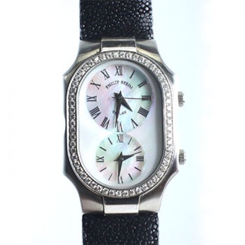 Philip Stein Dual Time Ladies Watch