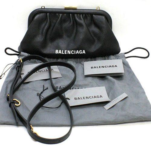 Balanciaga Shoulder Clutch Cloud