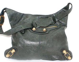 Balenciaga Chevre Giant 21 Gray Giant Hobo Anthracite Handbag