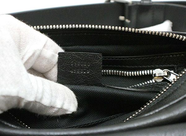 Gucci Logo Belt Bag Black Leather