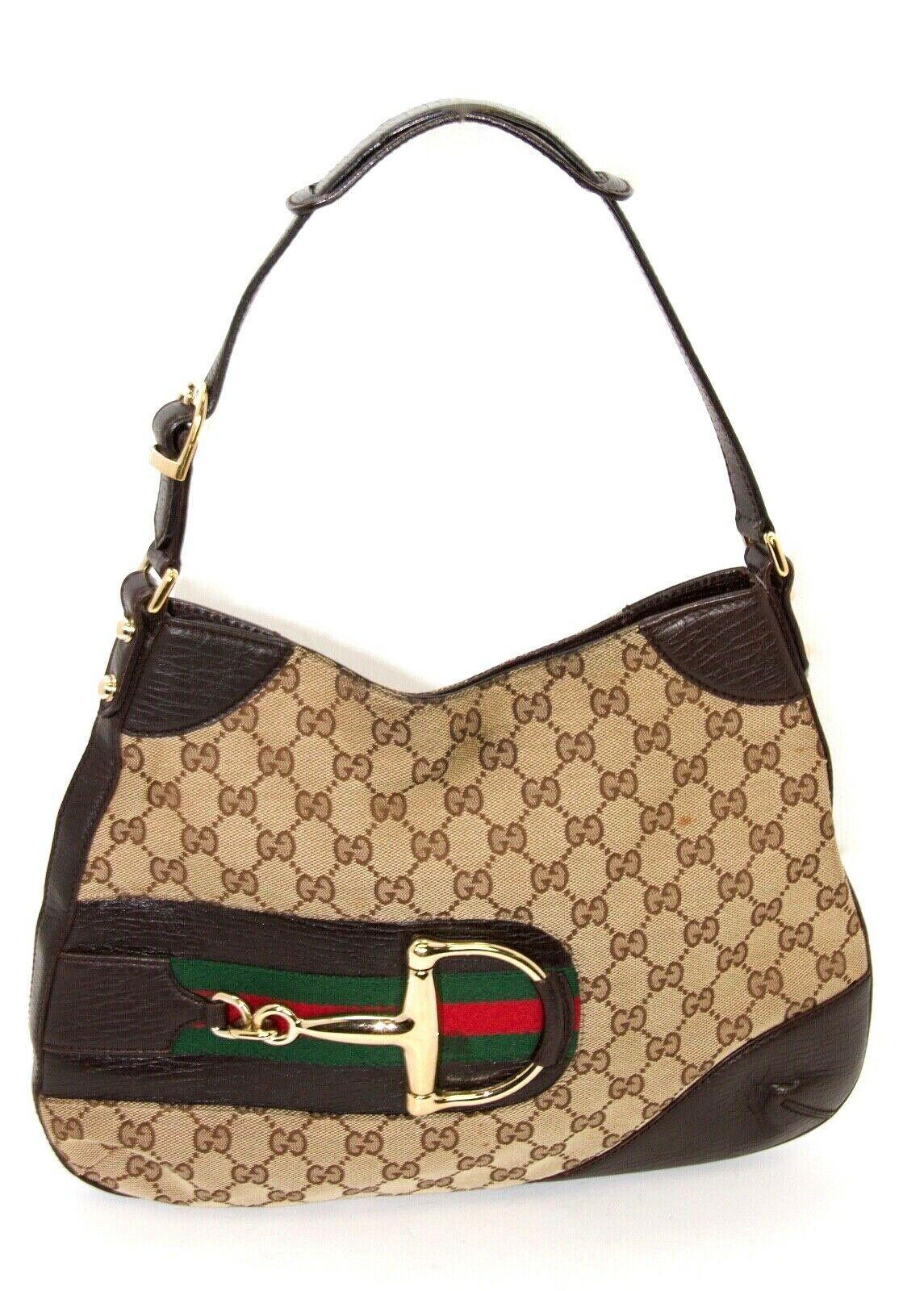 Gucci Horsebit Designer Handbag