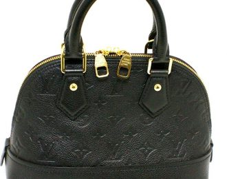 Louis Vuitton New Alma BB Black Nior
